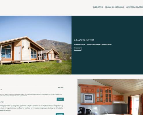 Informasjon om hytte